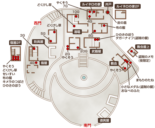 トラペッタ地図