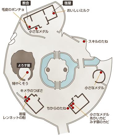 レティシア地図