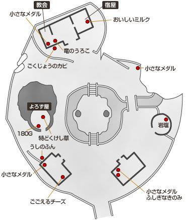 闇のレティシア マップ