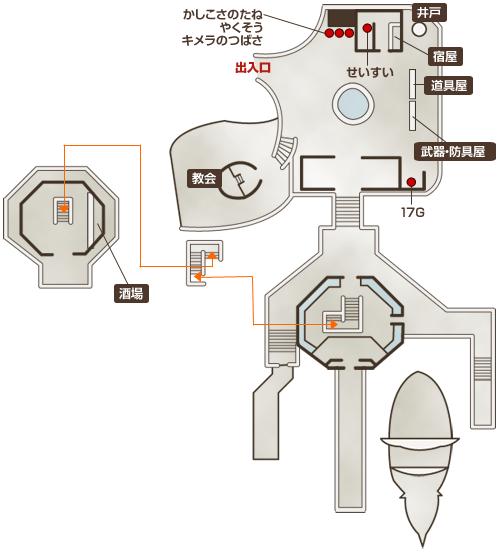 ポルトリンク地図
