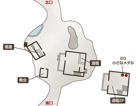 ドニの町マップ